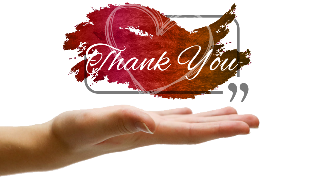 Words of Hope – Thank you for partnering with us