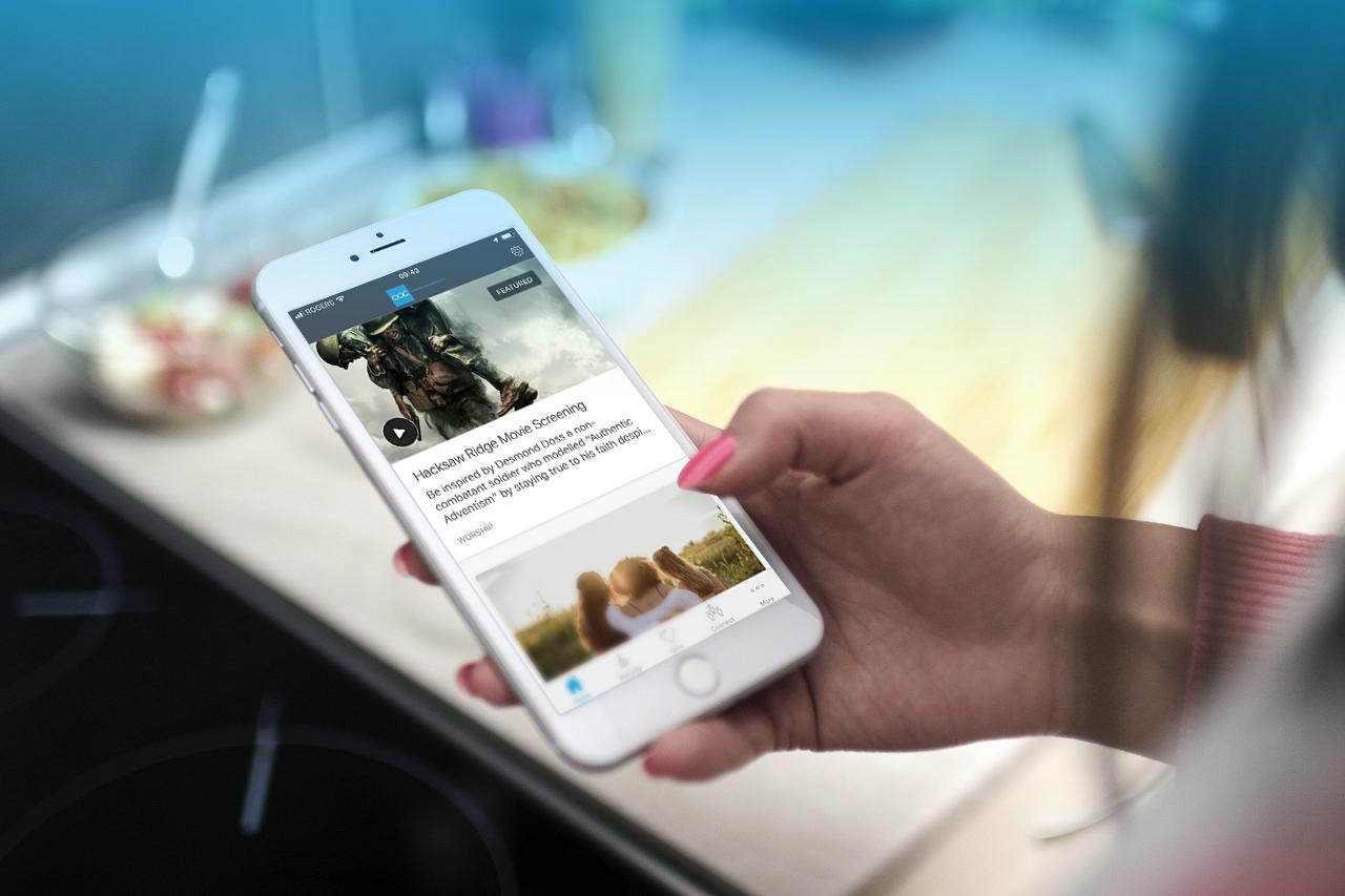 OAC app slider