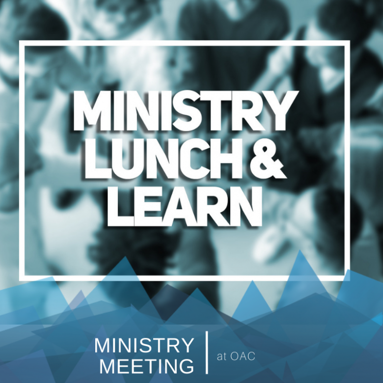 Ministry Leader Lunch & Learn