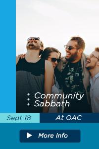 Event Template Community Sabbath